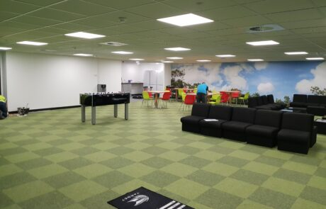 commercial and office carpet tiles in Birmingham 4