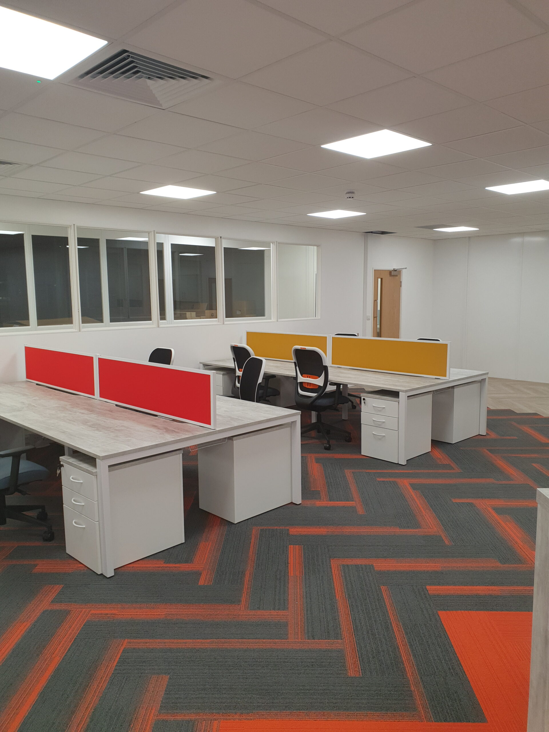 commercial and office carpet tiles in Birmingham 2