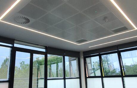 Office suspended ceiling installation in birmingham