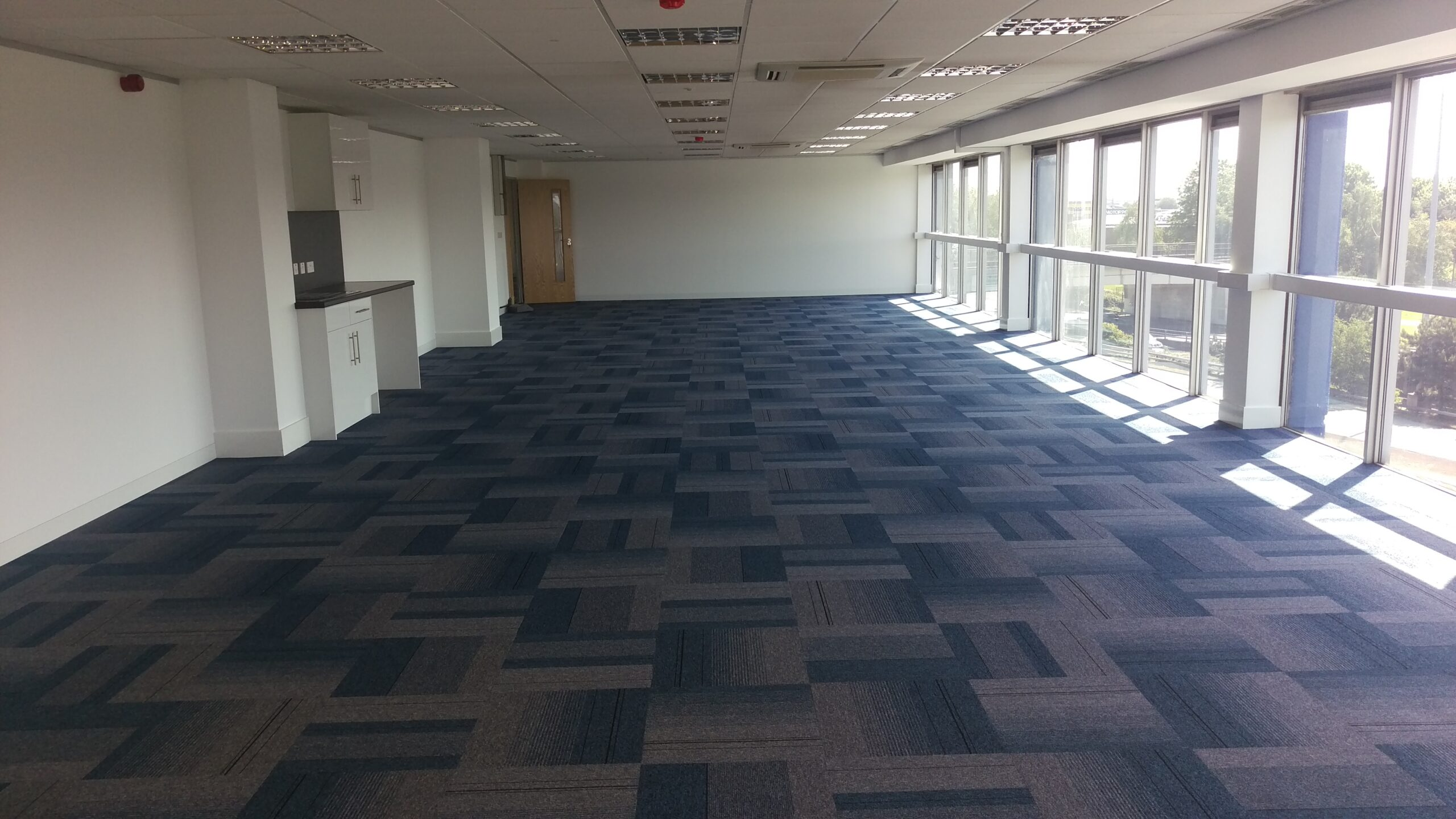 commercial and office carpet tiles in Birmingham
